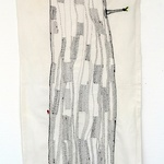 Tree of life. Embroidery 66 x 136 cm 2013